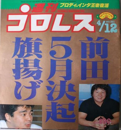 Weekly Pro Wrestling No. 251