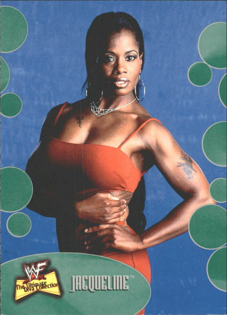 2001 WWF The Ultimate Diva Collection (Fleer) Jacqueline (No.11)