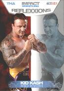 2012 TNA Impact Wrestling Reflexxions Trading Cards (Tristar) Kid Kash 35