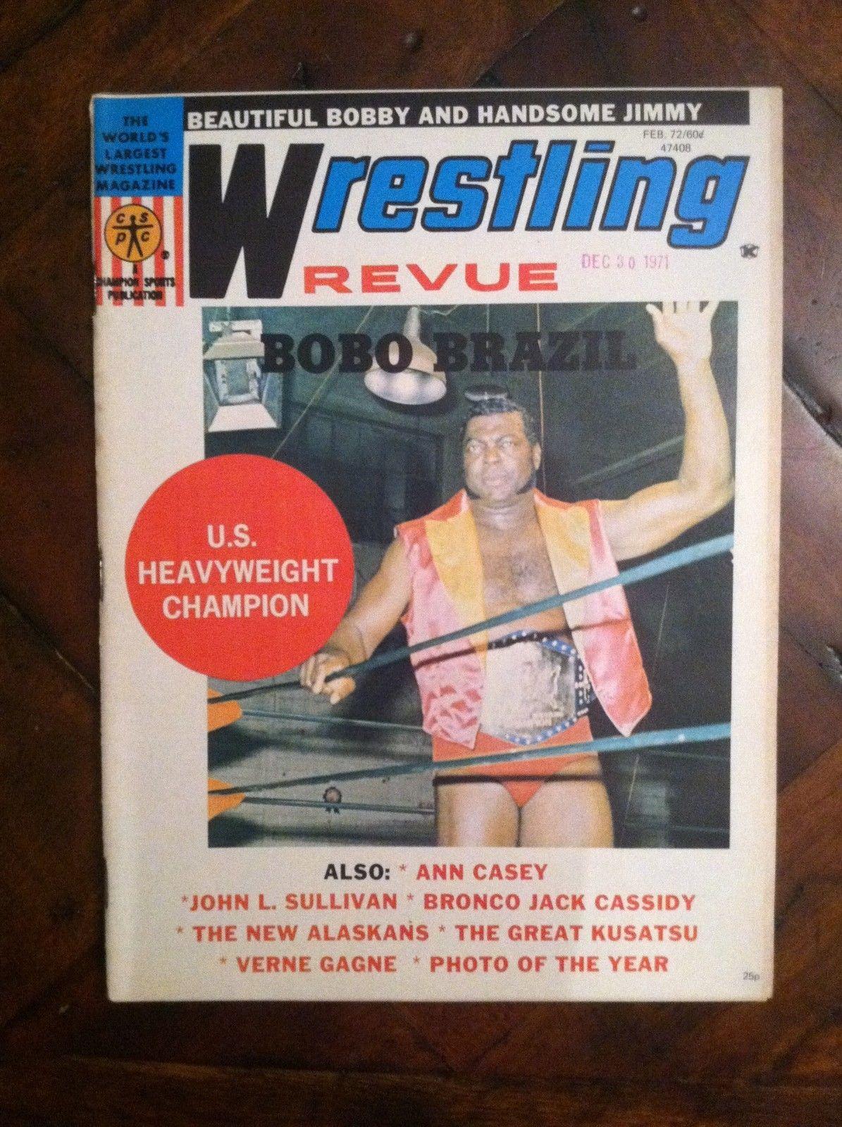 Wrestling Revue - February 1972