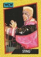 1991 WCW (Impel) Sting 12