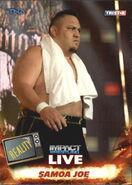 2013 TNA Impact Wrestling Live Trading Cards (Tristar) Samoa Joe 48