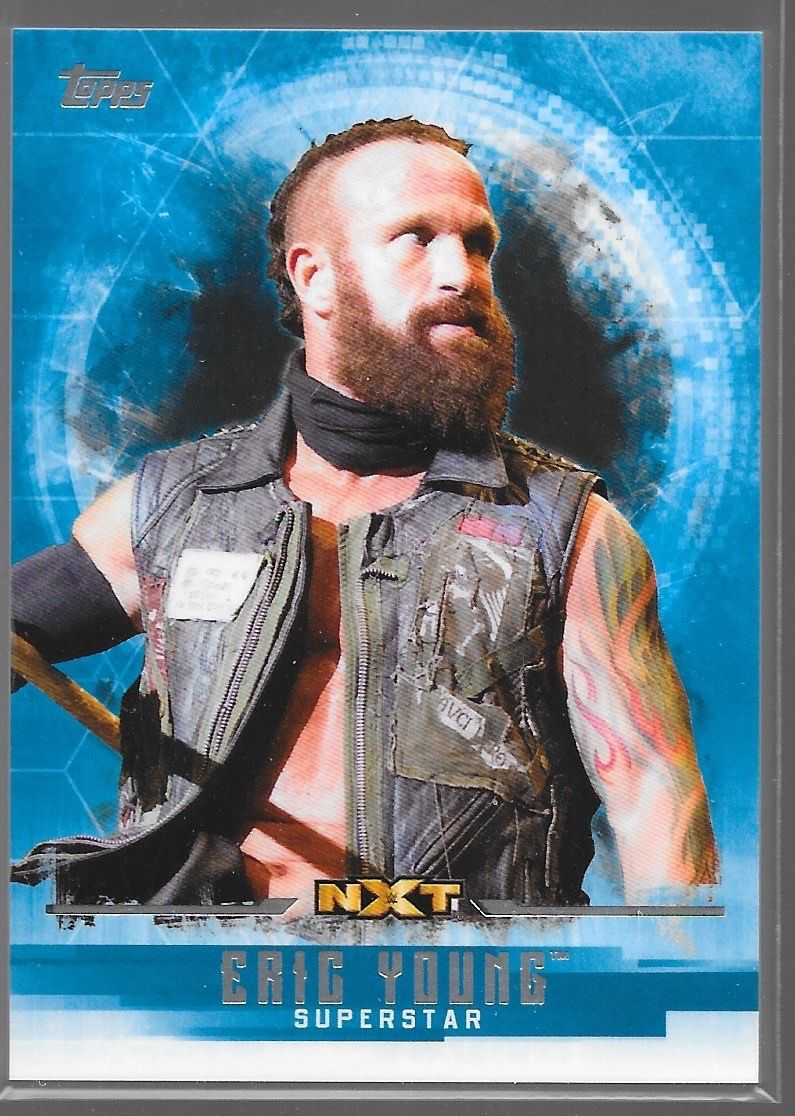 2017 WWE Undisputed Wrestling Cards (Topps) Eric Young (No.46)
