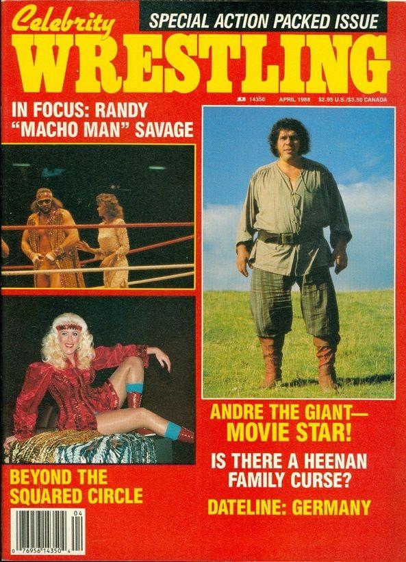 Celebrity Wrestling - April 1988