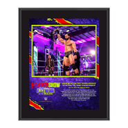 Drew McIntyre The Horror Show At Extreme Rules 2020 10x13 Commemorative Plaque