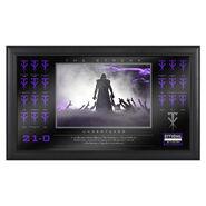 Undertaker The Streak Commemorative Plaque
