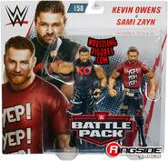 WWE Battle Packs 58 Kevin Owens & Sami Zayn