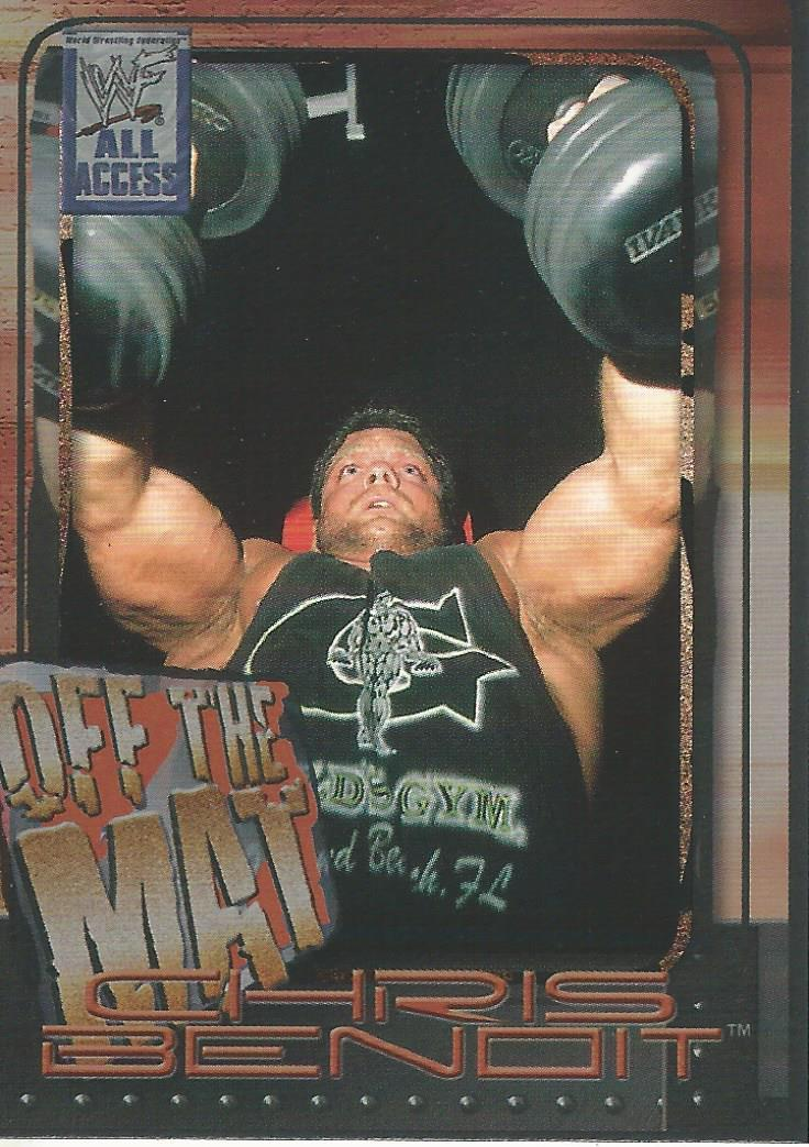 2002 WWF All Access (Fleer) Chris Benoit (No.56)