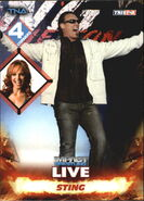 2013 TNA Impact Wrestling Live Trading Cards (Tristar) Sting 24