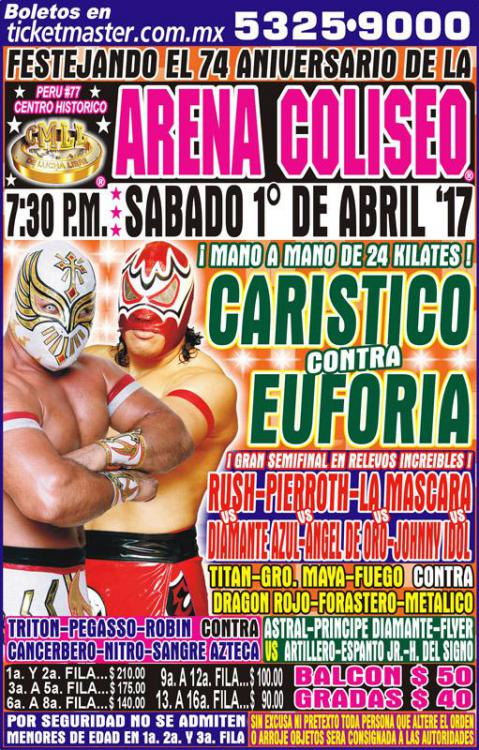 CMLL Sabados De Coliseo (April 1, 2017)