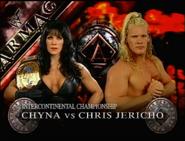 Chyna vs. Chris Jericho Armageddon 1999