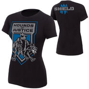 The Shield Hounds of Justice Women's T-Shirt
