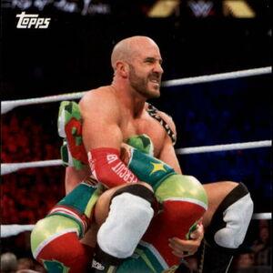 2018 WWE Road to Wrestlemania Trading Cards (Topps) Cesaro & Sheamus 8.jpg