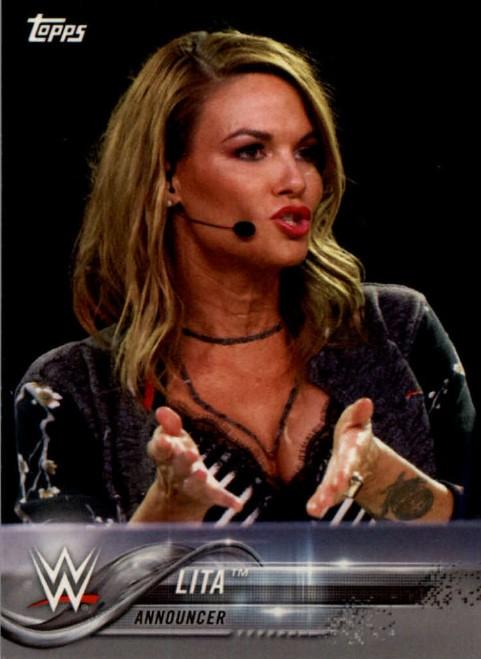2018 WWE Wrestling Cards (Topps) Lita (No.52)