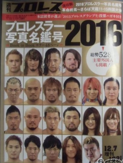 Weekly Pro Wrestling No. 1821