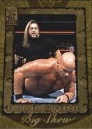 2002 WWF All Access (Fleer) Big Show 83
