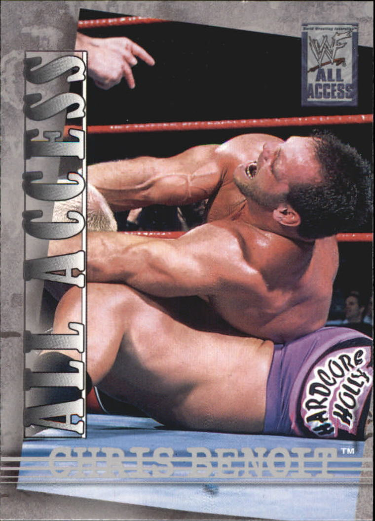 2002 WWF All Access (Fleer) Chris Benoit (No.15)