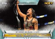 2019 WWE Women's Division (Topps) Shayna Baszler 66