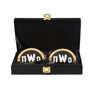 NWo WWE World Heavyweight Championship Replica Title Side Plate Box Set