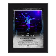 Naomi No Mercy 2016 10 x 13 Photo Plaque