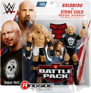WWE Battle Packs 60 Goldberg & Stone Cold Steve Austin