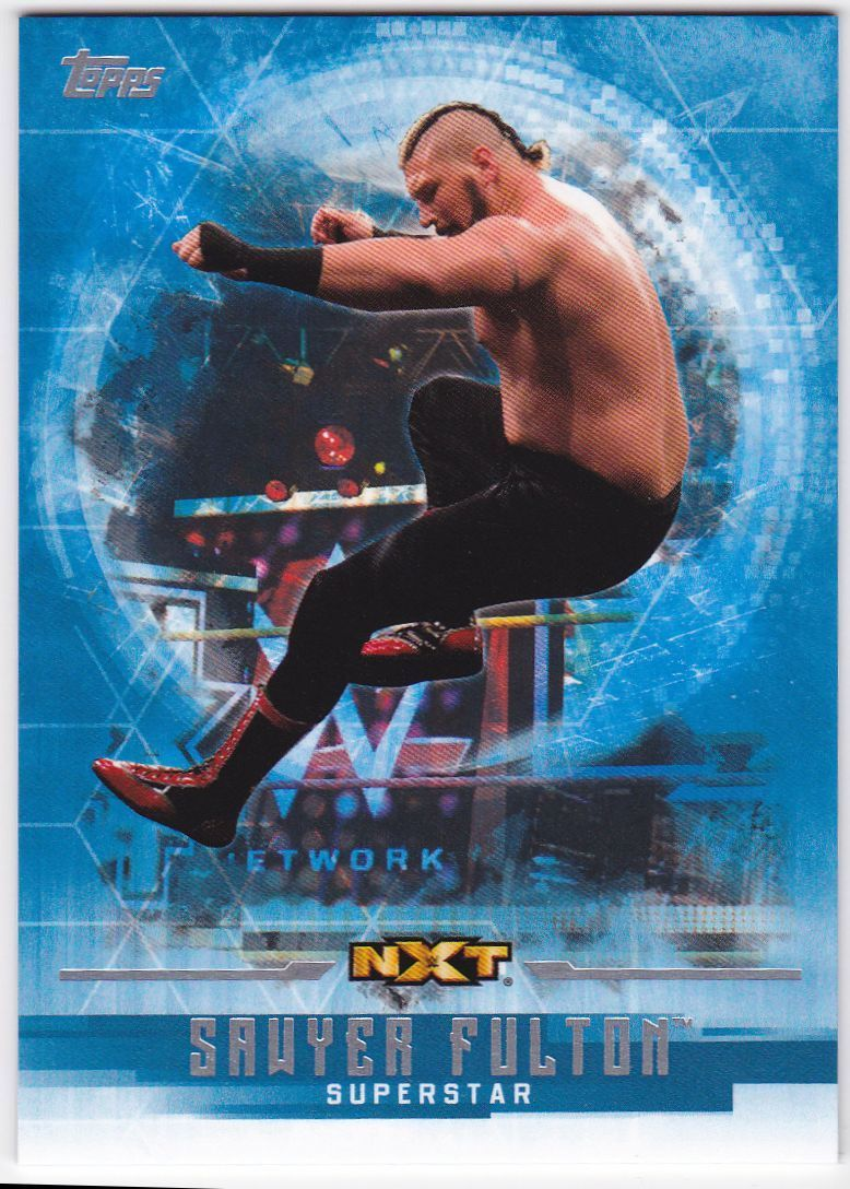 2017 WWE Undisputed Wrestling Cards (Topps) Sawyer Fulton (No.54)