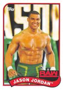 2018 WWE Heritage Wrestling Cards (Topps) Jason Jordan 31