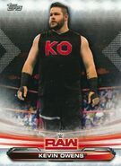 2019 WWE Raw Wrestling Cards (Topps) Kevin Owens 42