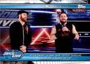 2019 WWE Road to WrestleMania Trading Cards (Topps) Kevin Owens & Sami Zayn 65