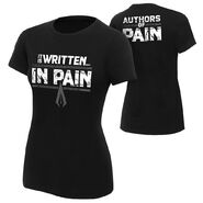 Authors of Pain It is Written in Pain Women's Authentic T-Shirt