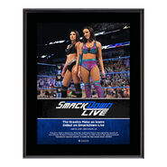 IIconic Duo SmackDown Live New Orleans 10 x 13 Photo Plaque