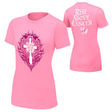 Sheamus Rise Above Cancer Pink Authentic women T-Shirt.jpg