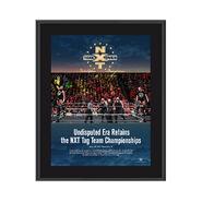 The Undisputed Era NXT TakeOver Philadelphia 2018 10 x 13 Commemorative Photo Plaque
