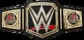 Triple H WWE World Championship sideplates
