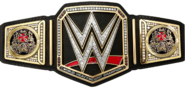 Triple H WWE World Championship sideplates