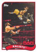 2018 WWE Heritage Wrestling Cards (Topps) Kalisto 37