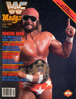 WWF Magazine - July 1988