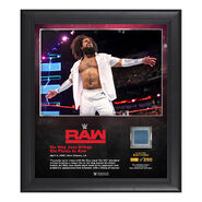 No Way Jose RAW New Orleans 15 x 17 Framed Plaque w Ring Canvas
