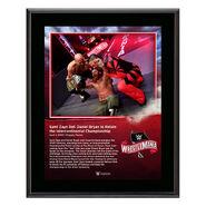 WrestleMania 36 Sami Zayn 10 x 13 Limited Edition Plaque