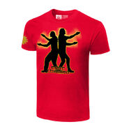 Edge & Christian Pose-itively Awesome Retro T-Shirt