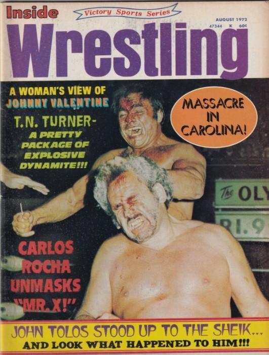 Inside Wrestling - August 1972