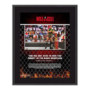 The Miz Hell In A Cell 2020 10x13 Commemorative Plaque