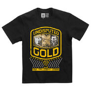 Undisputed Era Undisputed Gold Youth Authentic T-Shirt