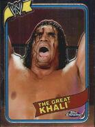 2008 WWE Heritage III Chrome Trading Cards The Great Khali 5