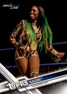 2017 WWE (Topps) Then, Now, Forever Naomi 154