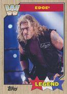 2017 WWE Heritage Wrestling Cards (Topps) Edge 76
