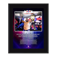 NXT Great American Bash Keith Lee 10x13 Commemorative Plaque