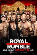 Royal Rumble 2017 poster