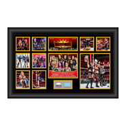 The IIconics WrestleMania 35 Signed Commemorative Plaque