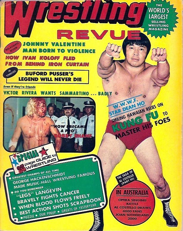 Wrestling Revue - January 1975
